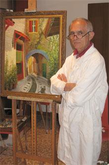 antonio giorgio cattani - artista, pittore del circolo la soffitta